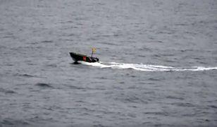 Pojazdy tego typu służą jako cele podczas morskich manewrów.
