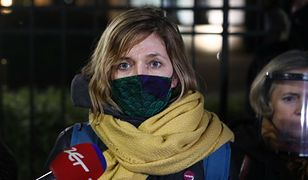 Posłanka Lewicy spryskana gazem podczas manifestacji. Wiadomo, kto to zrobił