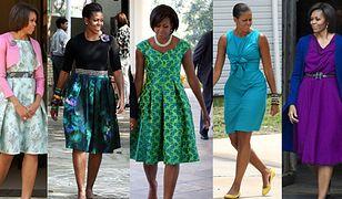 Sukienki Michelle Obamy