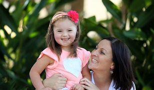 Joelle Kelly z córką Josee