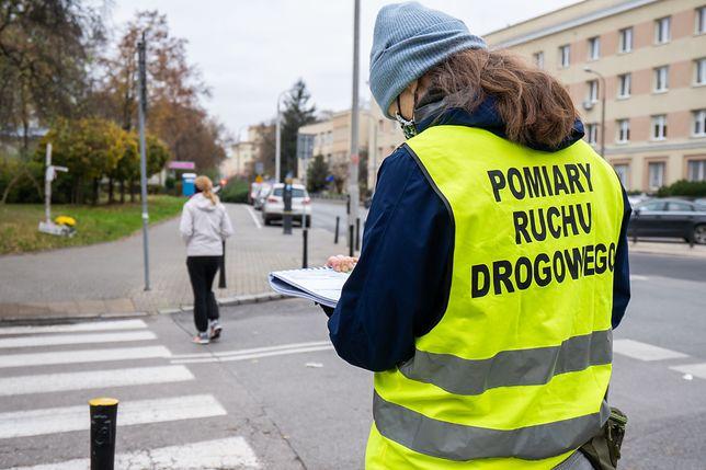 Warszawa. Audyt bezpieczeństwa na przejściach. Wiemy, gdzie jest najwięcej niebezpiecznych zeber, fot. ZDM