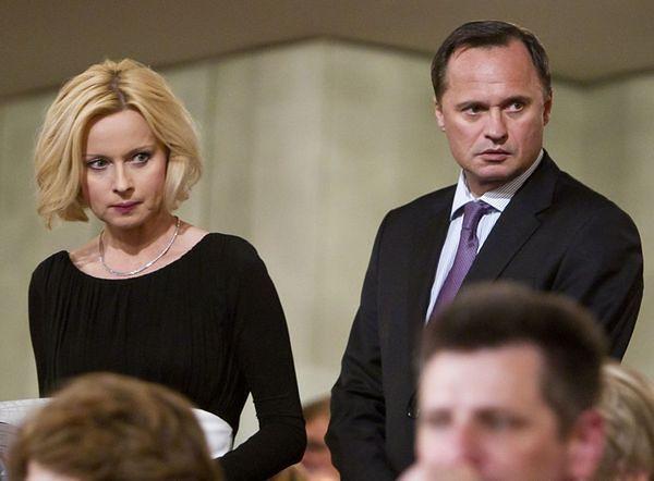 Leszek Czarnecki i Jolanta Pieńkowska