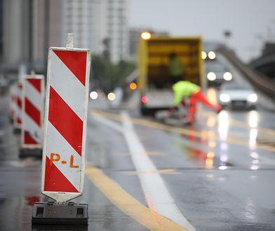 Warszawa. Roboty drogowe w weekend. Będą utrudnienia w ruchu [MAPA]