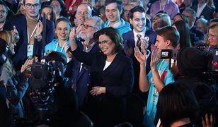 Wybory prezydenckie. Małgorzata Kidawa-Błońska na konwencji PO