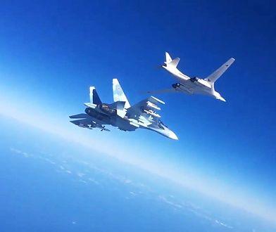 Dwa Tu-160 zostały umieszczone blisko Alaski