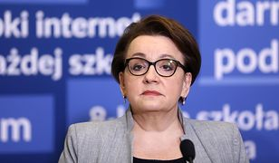 Szefowa MEN, Anna Zalewska.