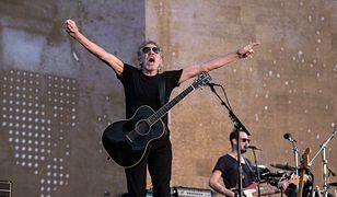 Roger Waters na koncercie w londyńskim Hyde Parku, 2018 r.