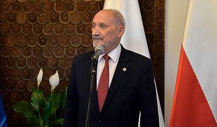 Szef MON Antoni Macierewicz
