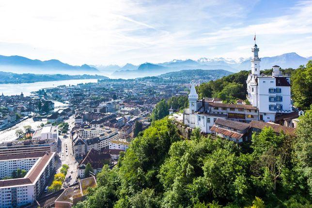 Atrakcje Szwajcarii - Hotel Gütsch, Lucerna