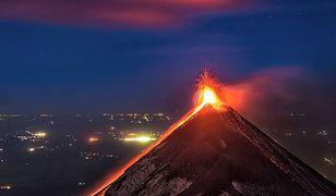 Wulkan w Gwatemali wybuchł z 18 na 19 listopada