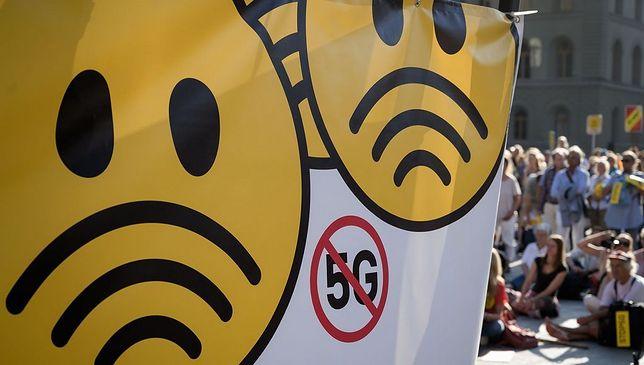 Tysiące Szwajcarów protestowało przeciwko sieci 5G