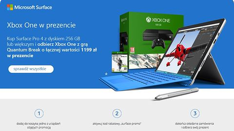 Microsoft obniżył ceny Surface Pro 4