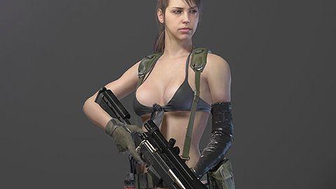 Nowe zwiastun i galeria z Metal Gear Solid V, postać Quiet już budzi kontrowersje
