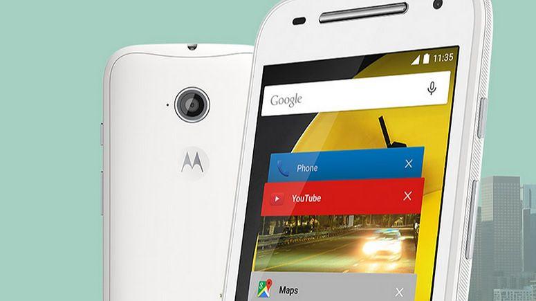 Nowa Motorola Moto E: płynny Android na bardzo tanim smartfonie