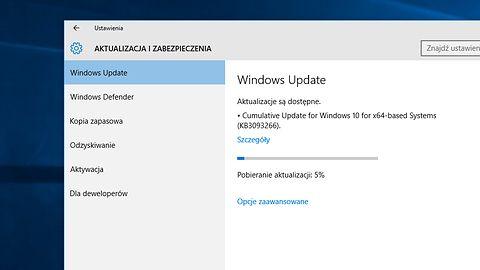 KB3093266: kolejna zbiorcza paczka poprawek dla Windows 10