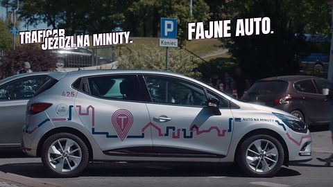 Traficar: samochody na minuty dostępne we Wrocławiu i Poznaniu