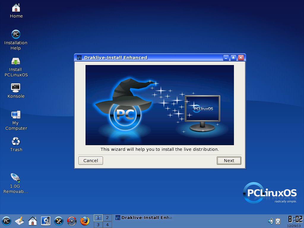 PCLinuxOS 2007 - linuksowy powrót do przeszłości