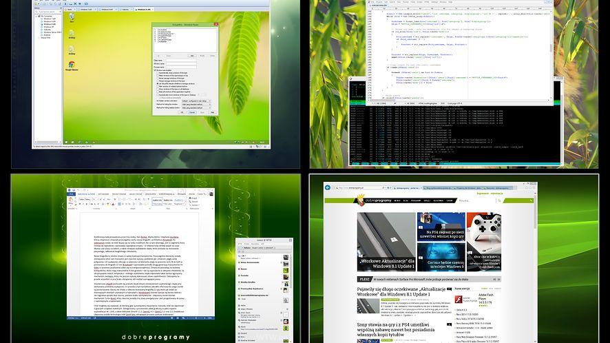 """Zamień swoje obecne """"okienka"""" w Windows 9. Część pierwsza: wirtualne pulpity"""