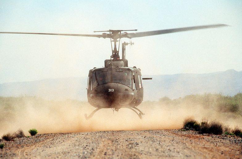Helikopter runął na ziemię. Tragedia na południu Filipin