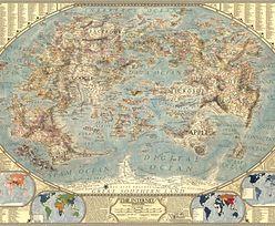 Niesamowita mapa. Nie zgadniesz, co przedstawia