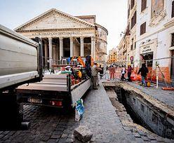 W Rzymie zapadła się ziemia. Odkryto znalezisko sprzed 2 tys. lat