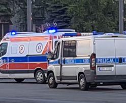 Poznań. Zakrwawiony mężczyzna szedł na policjantów z nożem. Padły strzały