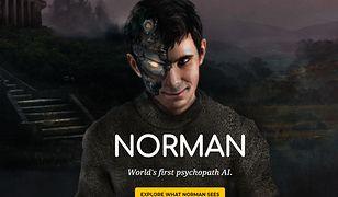 """Sama ilustracja """"Normana"""" wygląda przerażająco"""