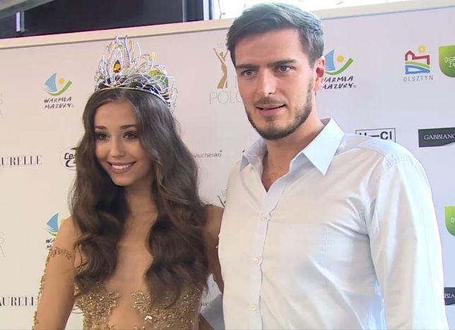 Izabella Krzan: kim jest przystojny chłopak Miss Polonii?