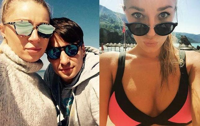 Martyna Gliwińska i Jarosław Bieniuk nie ukrywają swojego związku