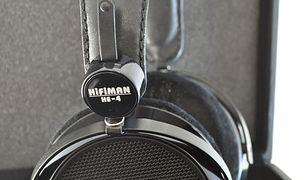 Chińskie słuchawki HiFiMan HE-4 o świetnej jakości