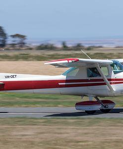 Australia: Pierwsza lekcja latania. Instruktor zasłabł, uczeń musiał sam lądować