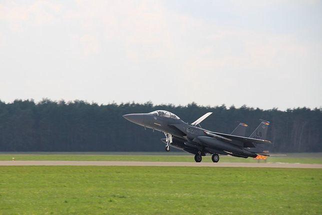 Amerykańskie myśliwce przyleciały do Polski