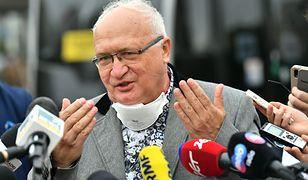 Prof. Krzysztof Simon o reklamie maseczek: Dlaczego nie mogę zarabiać na życie?