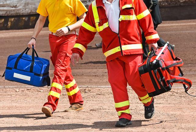 Na miejsce katastrofy skierowano strażaków z całego regionu.