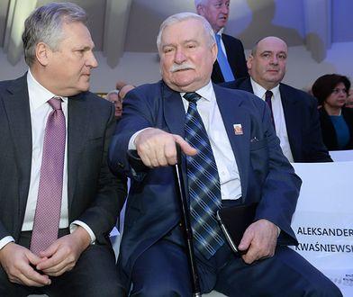 Aleksander Kwaśniewski i Lech Wałęsa byli zażartymi rywalami