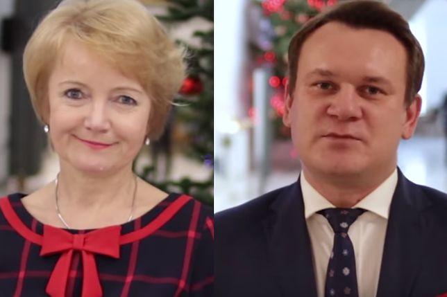 Jolanta Szczypińska i Dominik Tarczyński mają prośbę do Polaków