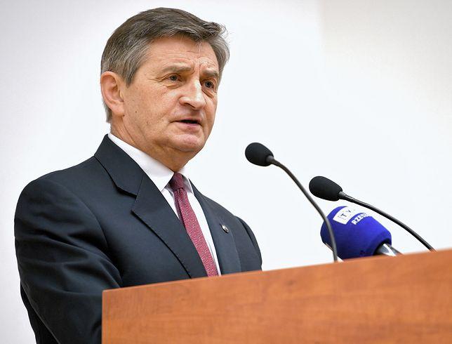 Marek Kuchciński złożył zawiadomienie do prokuratury