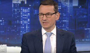 Mateusz Morawiecki w telewizji Fox News.