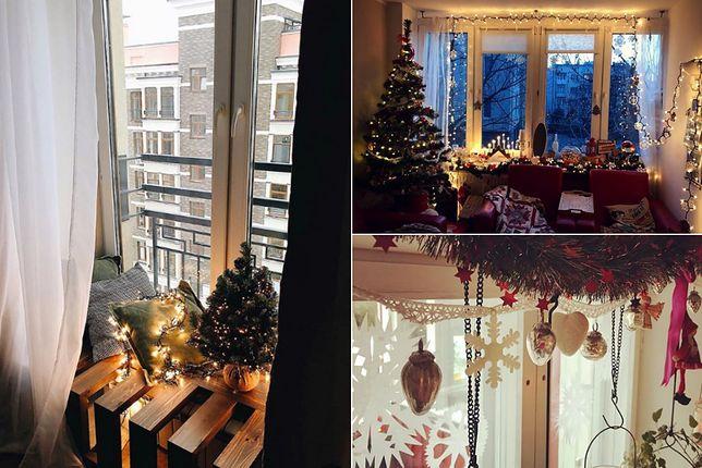 Dekoracja okna nie musi oznaczać obklejania czy malowania szyb - subtelne ozdoby da się zwiesić np. na karniszu