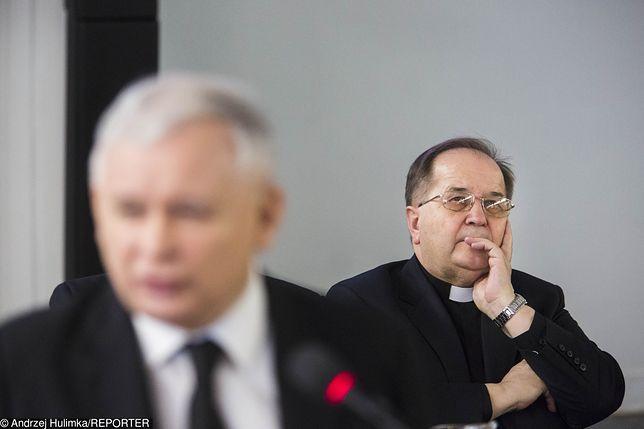 O. Rydzyk jest niezadowolony z ostatnich decyzji PiS