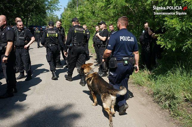 Poszukiwania podejrzanego o zabójstwo w Siemianowicach Śląskich