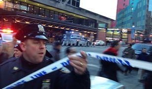 Dworzec znajduje się przy Times Square