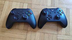 Kontroler Xbox One kontra Xbox Series X. Różnice są minimalne