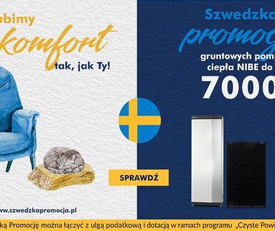 Lubimy komfort tak, jak Ty! Szwedzka Promocja gruntowych pomp ciepła NIBE do 7000 zł!