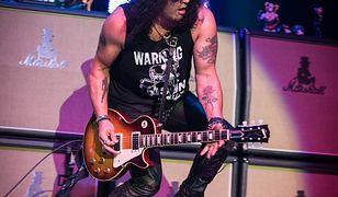 Slash zagra w Łodzi! Wystąpi 12 lutego w Atlas Arenie
