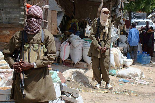Bojownicy Al-Szabaab w Somalii
