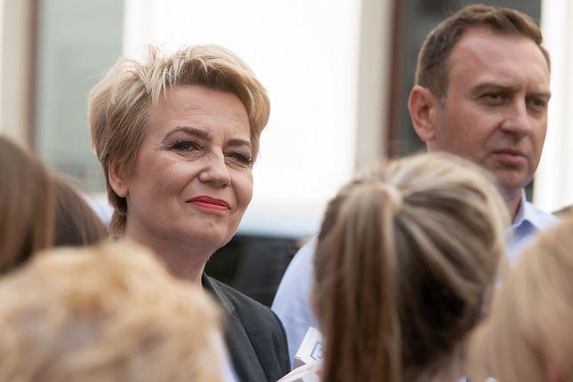 Zdaniem szefa PKW Hanna Zdanowska może objąć urząd prezydenta Łodzi