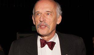 Janusz Korwin-Mikke skończył 77 lat