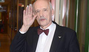 Janusz Korwin-Mikke w dobie pandemii postanowił zażartować
