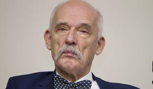 Janusz Korwin-Mikke komentuje decyzję rządu dotyczącą koronawirusa